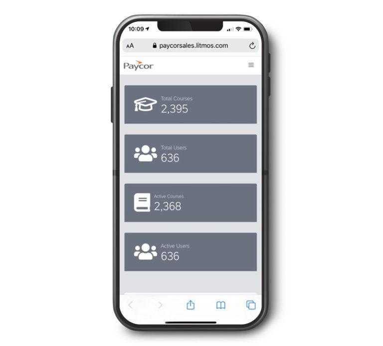 lms mobile app