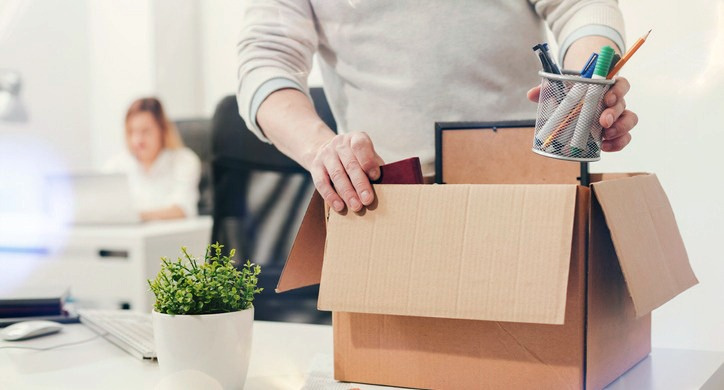 terminated-employee-packing-box